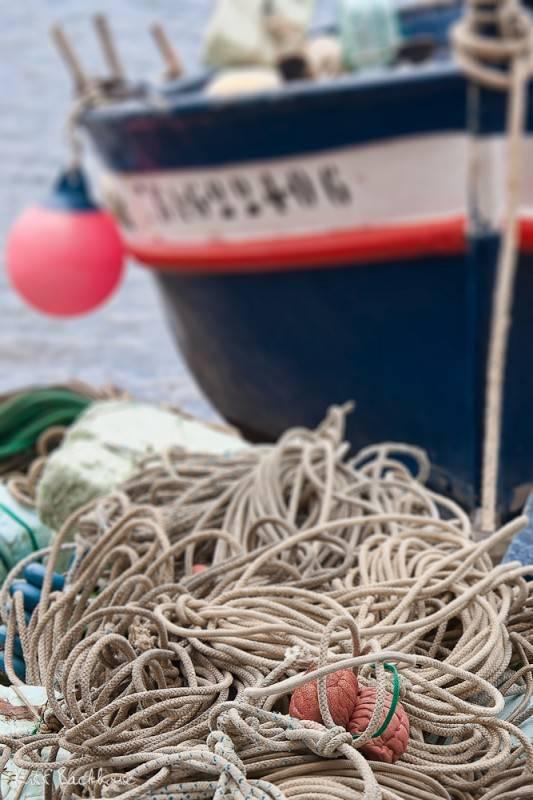 Boats, ropes and tackle