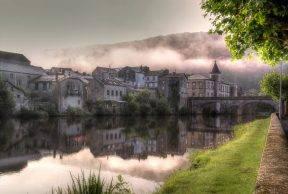 River l'Agout and Brassac