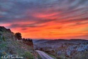 Sunrise over the Vallee d'Orb