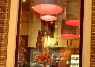 Utrecht by Night - cozy restaurant