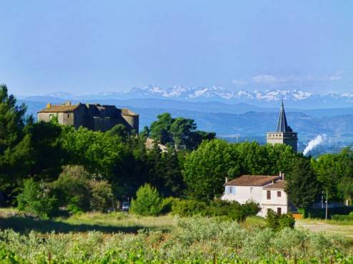 Pyrenees over Beaufort