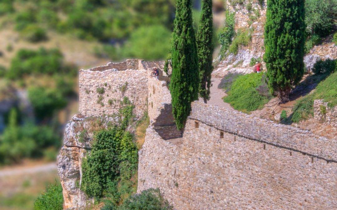 Photo of the Day – the well tower at Minerve